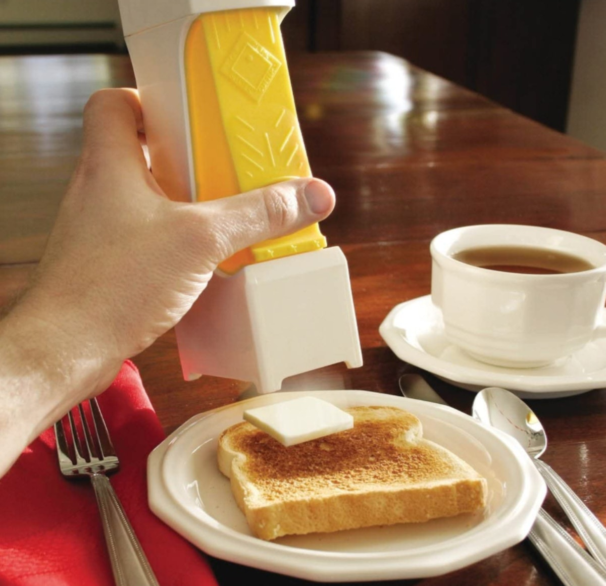 Inventions for Market One Click Butter Cutter