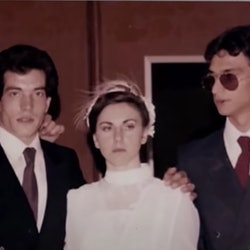 The Denaro family in 'World's Most Wanted' via the Netflix press site