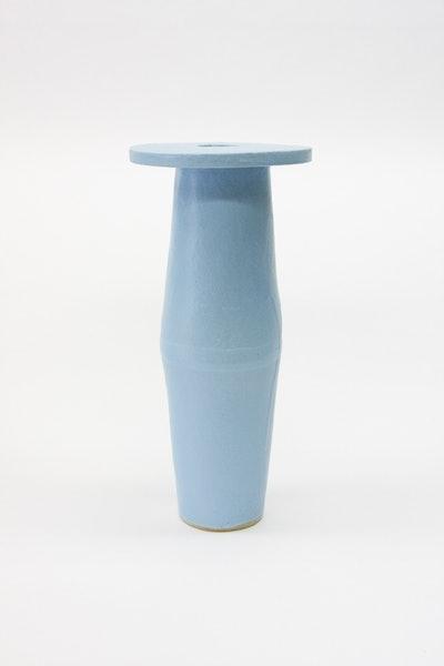 Tall Saucer - Baby Blue