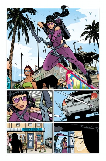 kate bishop hawkeye marvel