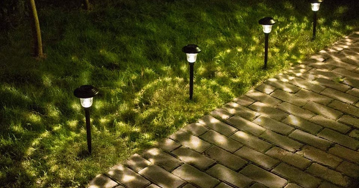 These Solar Lights Illuminate Your Yard — Without Adding To Your Electric Bill