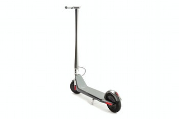 Model One scooter three-quarter view