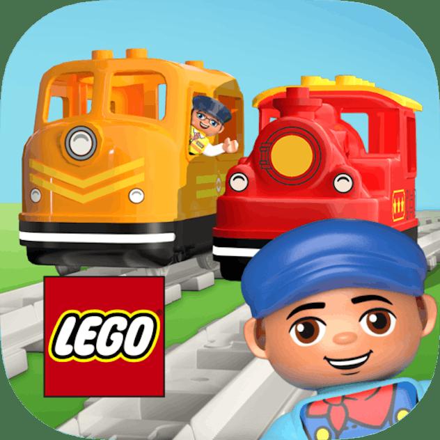 LEGO Duplo Train Kindle app