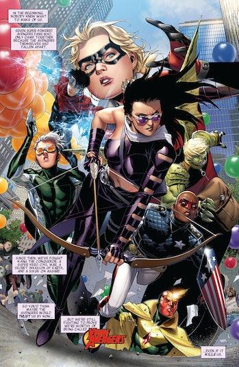 Kate Bishop Hawkeye Marvel Comics