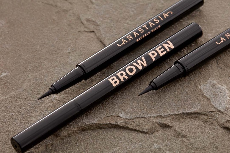 Anastasia Beverly Hills' New Brow Pen in tube with brush.