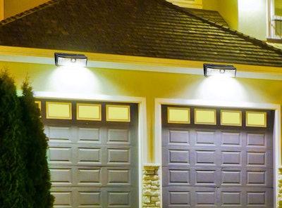 Aootek Solar Outdoor Motion Sensor Lights (2-Pack)