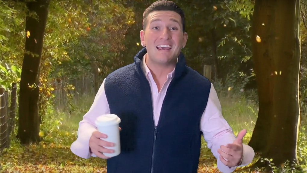 Joey Sasso is hosting a virtual dating show called 'Faraway Bae' featuring a 'Love Is Blind' star.