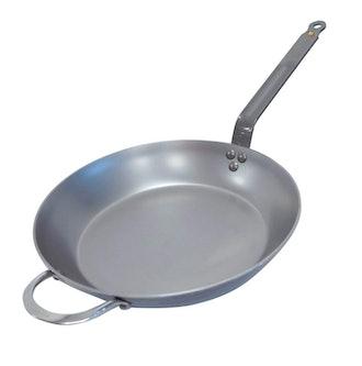 De Buyer MINERAL B Round Carbon Steel Fry Pan