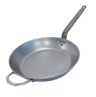 De Buyer MINERAL B Round Carbon Steel Fry Pan
