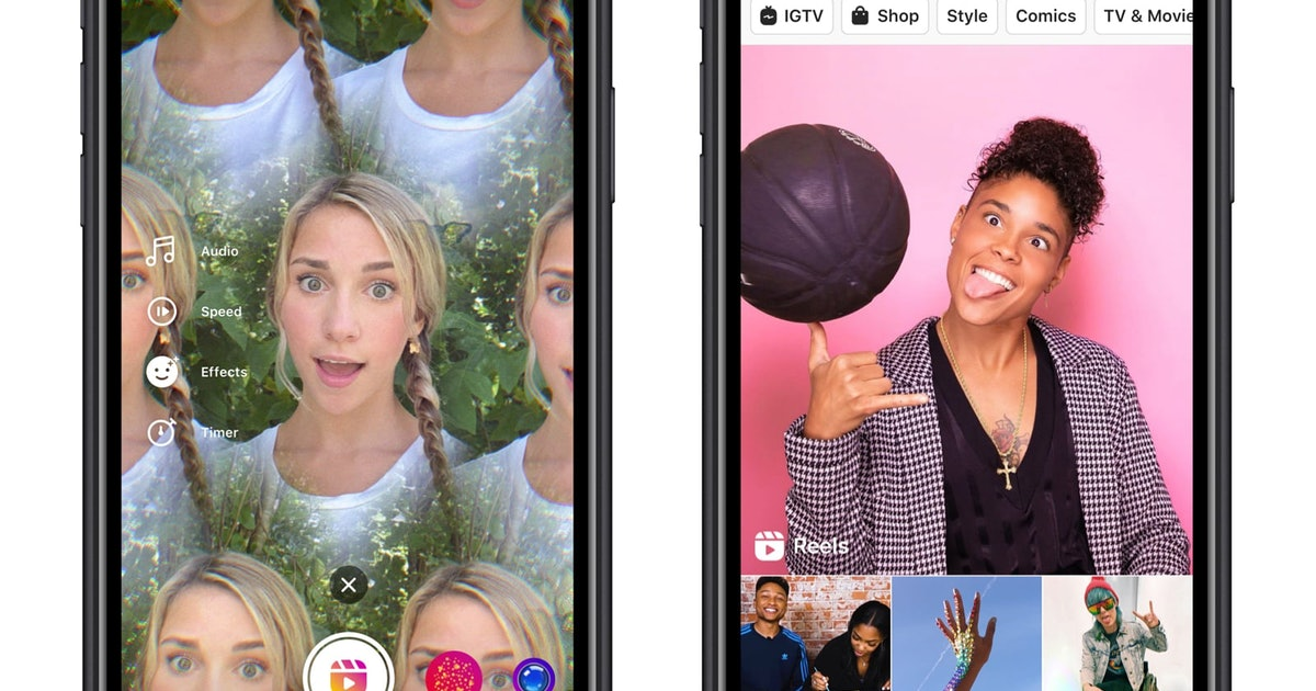 Instagram's Reels is finally here, and it sure looks a lot like TikTok