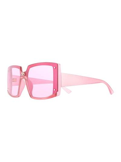 Pink Square Sunglasses