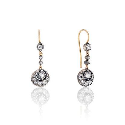 19th Century Diamond Earrings