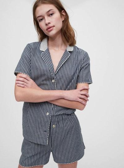 PJ Shirt in Poplin