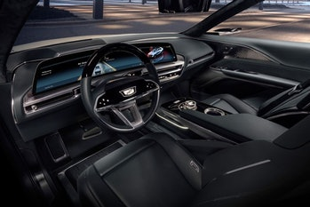 The Cadillac Lyriq interior