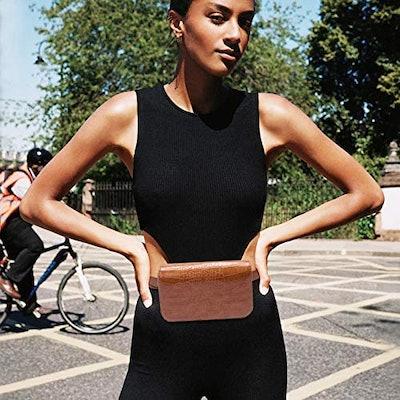 Badiya Women's Mini Waist Bag Fanny Packs