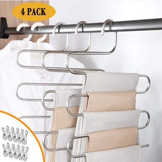 IDEALCRAFT Pants Hangers (4-Pack)