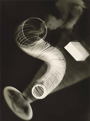 """An untitled rayogram from 1922 by Man Ray. Ray found the unconventional process liberating, saying """"The subjects were never so near to life itself as in my new work, and never so completely translated to the medium."""""""