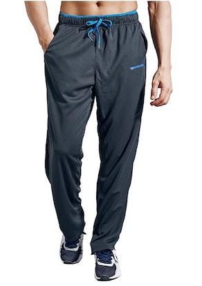 ZENGVEE Men's Sweatpants with Zipper Pockets