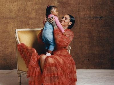 Kehlani with her daughter Adeya Nomi