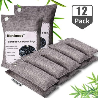 Marsheepy Bamboo Charcoal Air Purifying Bags (12-Pack)