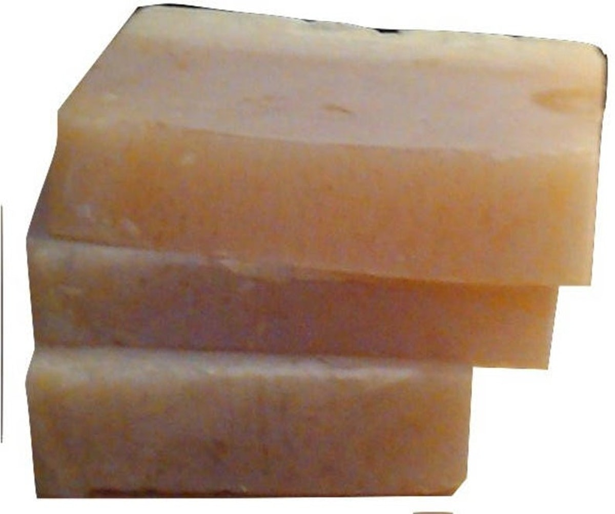 LakshmisCupboard Low Lather Argan Honey Shampoo and Conditioner Bar