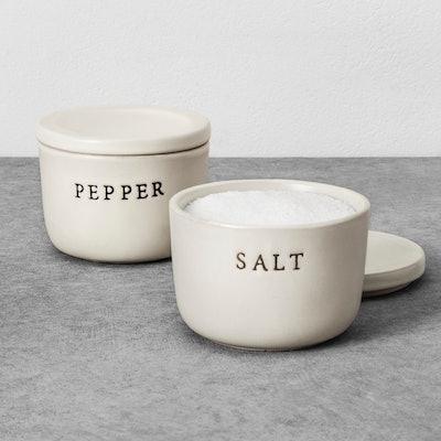 Stoneware Salt Cellar