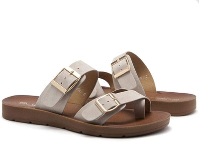 Shoe Land Nolita Low Wedge Shoes
