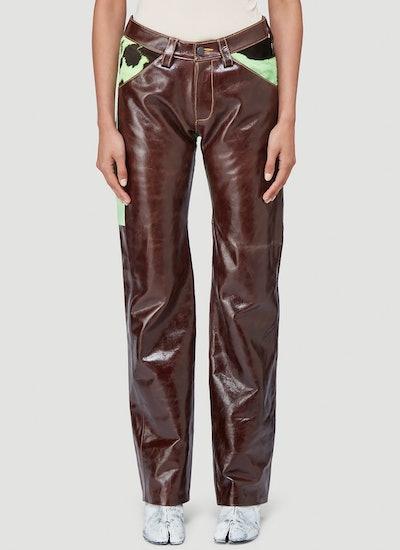 Leather Suit Pants