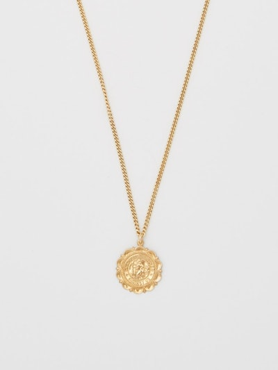 Saint Christopher Crest Necklace