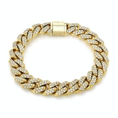 Large Cuban Link Bracelet