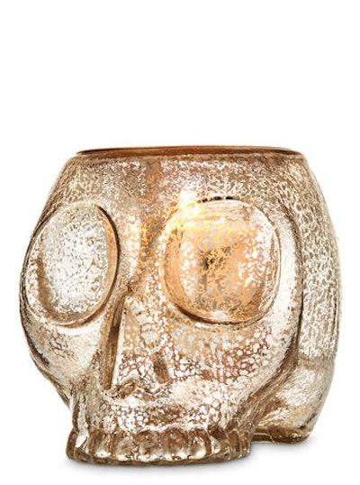 Skull Luminary Single Wick Candle