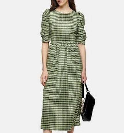Topshop Lime Green Dress