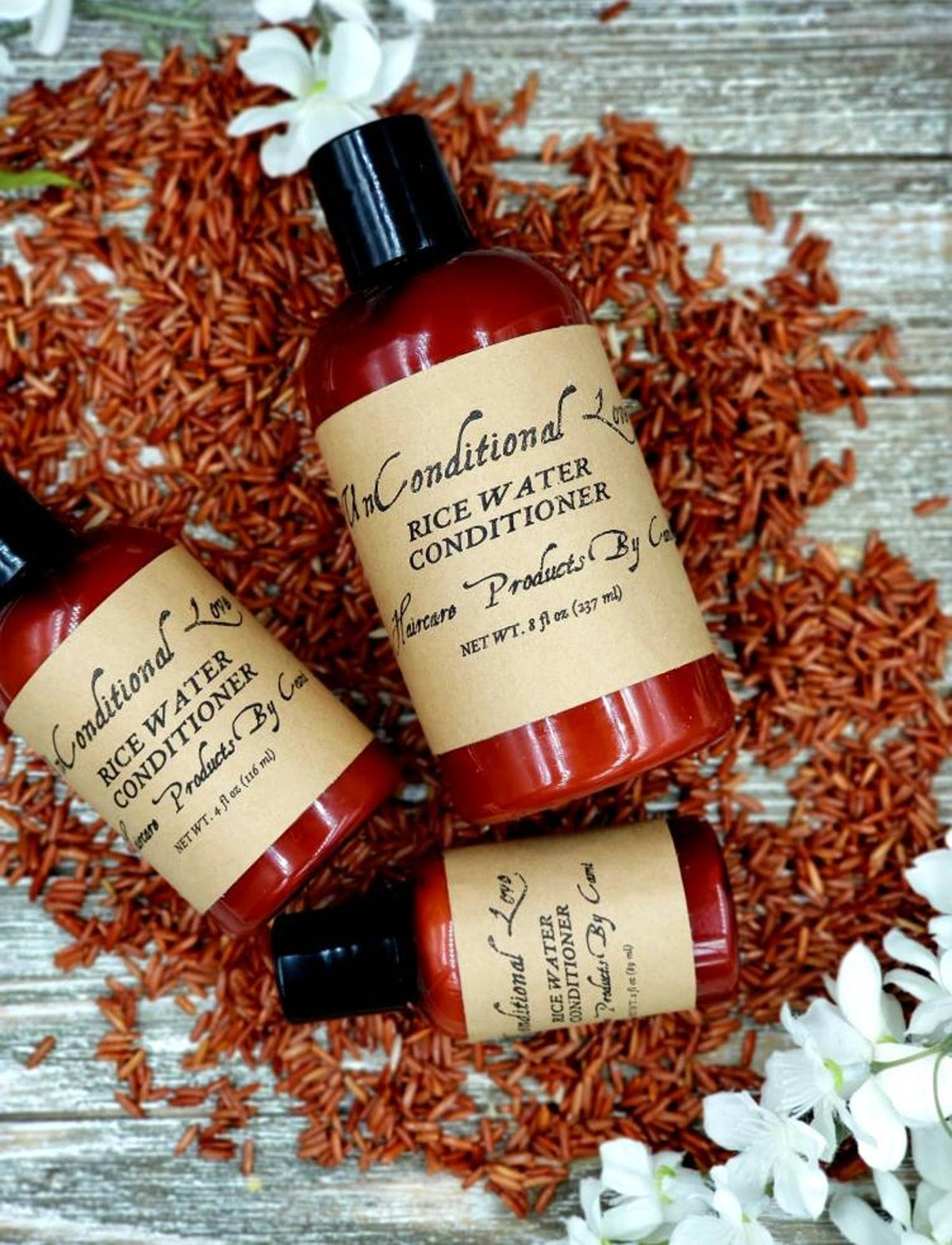 UnConditionalLovebyC Sample Size Fermented Rice Water Conditioner