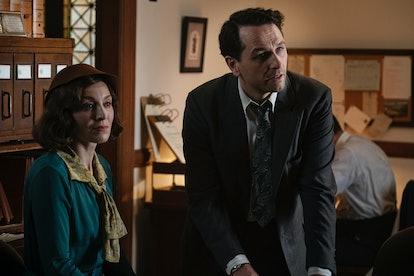 Juliet Rylance and Matthew Rhys in Perry Mason via the WarnerMedia press site