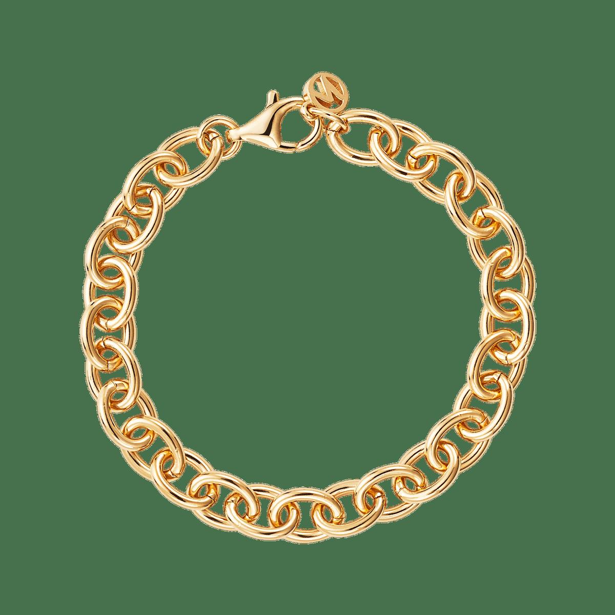Drawn Cable Chain Bracelet