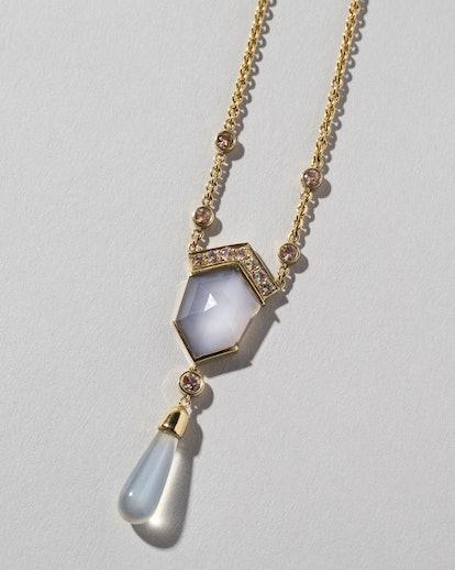 Blue Chalcedony Kit Necklace