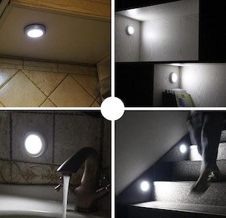 GAGAYA LED Motion Sensor Lights (6-Pack)