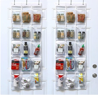 Simple Houseware Pantry Organizer (2-Pack)