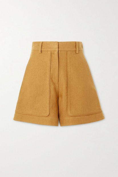 Iala Linen And Cotton-Blend Shorts