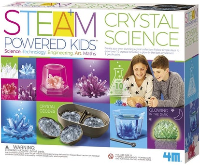 4M Deluxe Crystal Growing Science Kit