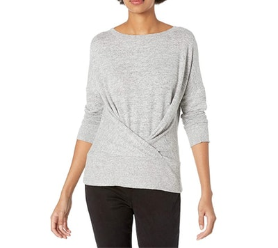 Daily Ritual Draped Sweatshirt