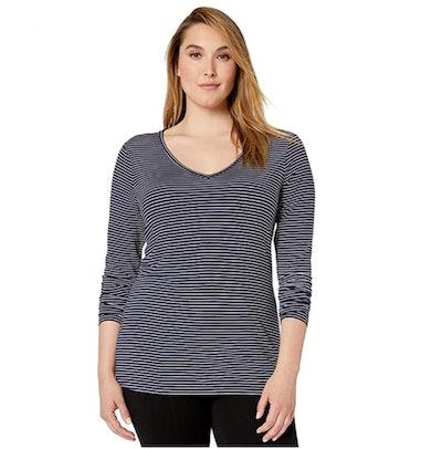 Daily Ritual Plus Size V-Neck T-Shirt