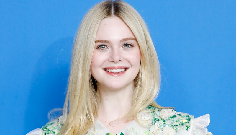 Elle Fanning at a red carpet event