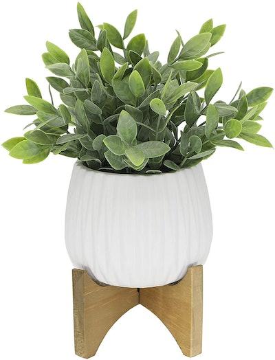 Flora Bunda Artificial Tea Leaf