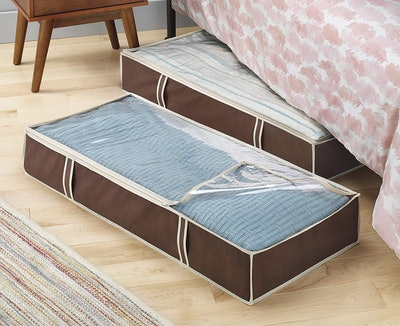 Whitmor Zippered Underbed Bags (2-Pack)