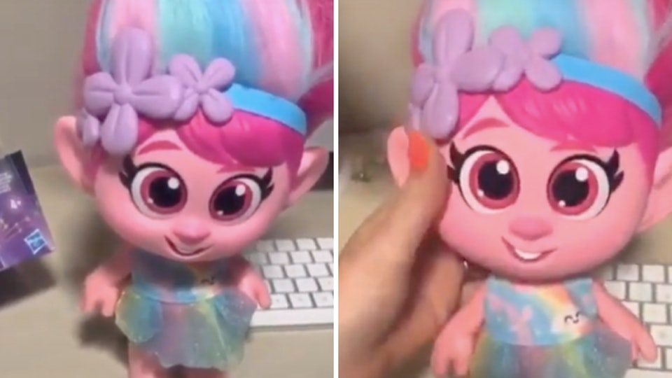 """Hasbro is pulling all """"Giggle and Sing"""" Poppy dolls from shelves."""
