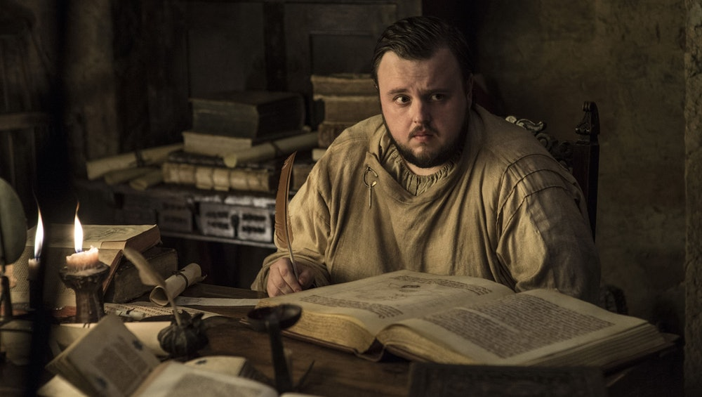 samwell tarly game of thrones winds of winter