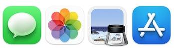 Icons in macOS Big Sur