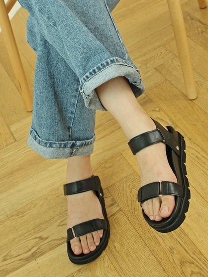 Free Casual Sandals Black