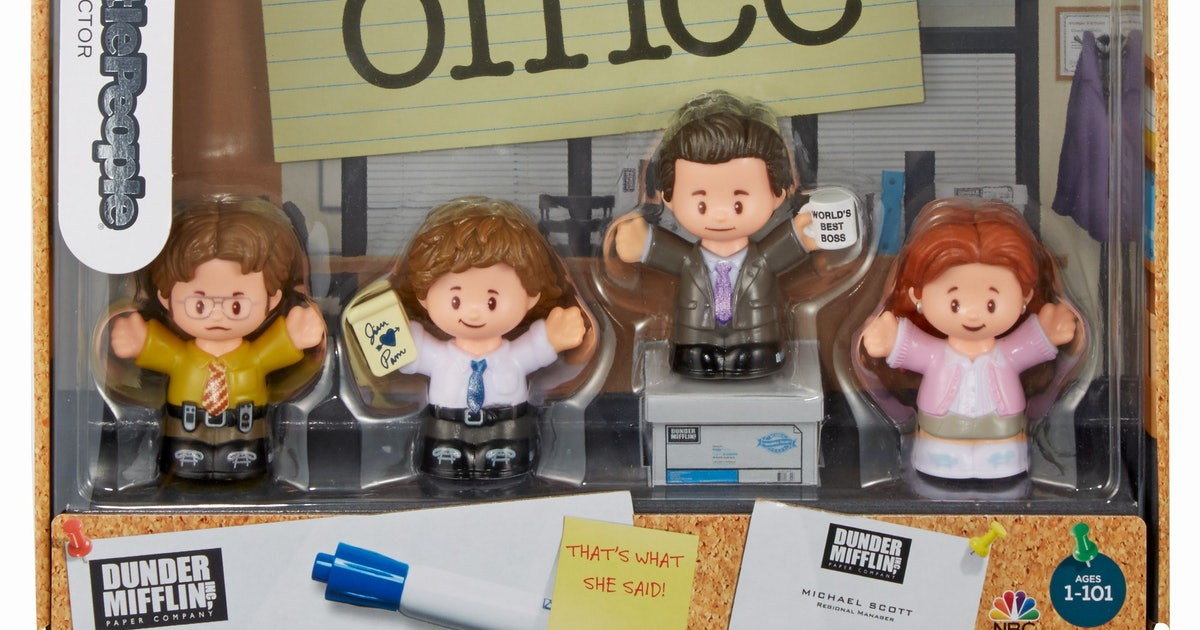 I Feel God With This 'The Office' Little People Set